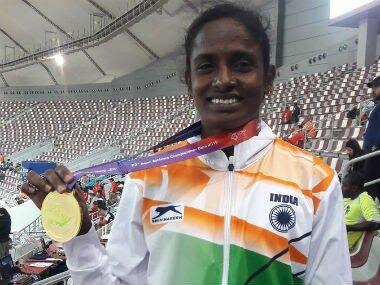 Asian Athletics Championships: Gomathi Marimuthu, Tajinder Pal Singh Toor up the ante with gold; Dutee Chand disappoints
