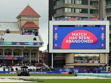 India vs New Zealand, ICC Cricket World Cup 2019: Match abandoned after rain plays spoilsport; both teams maintain unbeaten run